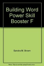 Building Word Power Skill Booster F [Paperback] Sandra M. Brown