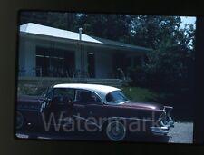1960 Kodachrome photo slide Buick Super car automobile