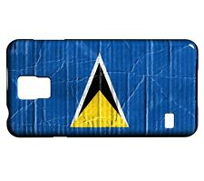 Coque Samsung Galaxy S5 Drapeau SAINTE LUCIE 04