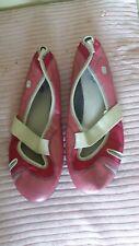 Clarks  pink Mary Jane style shoes Size UK 7