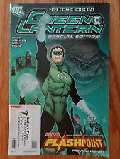 2011 DC Free Comic Book Day GREEN LANTERN Special Edition Geoff Johns Ivan Reis
