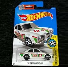 White '70 Ford Escort Rs1600. Castrol. 2016 Hw 185/250. Dhx59. New in Package!