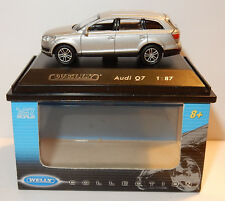 MICRO WELLY COLLECTION AUDI Q7 GRIS CLAIR METAL HO 1/87 IN BOX