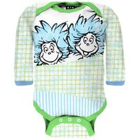 Baby Girls For Me Cindy Long Sleeve Newborn Infant One Piece Seuss Dr