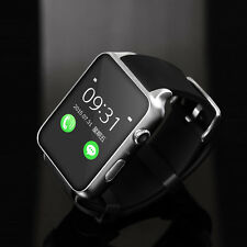 Smartwatch Unlocked Watch Cell Phone All in 1 for Women Men Boys Girls Silver