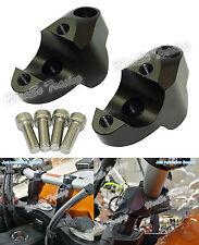 Noir Riser augmentation de hauteur guidon Pour KTM 1050 1090 1190 1290 Adventure