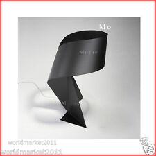 New Modern Style Black Iron Height 46CM Desk Light Bedside Lighting Table Lamp