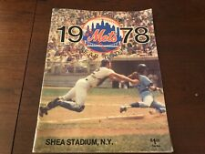 1978 New York Mets Yearbook excellent -near mint condition willie mays Seaver