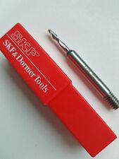 """1/8"""" SKF  Ball Nose Slot Drill LONG HSS  Milling Cutter"""