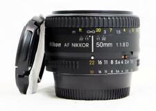 Nikon AF Nikkor 50mm f/1.8D Prime Lens w/ Caps - CLEAN, MUST SEE! (7429)