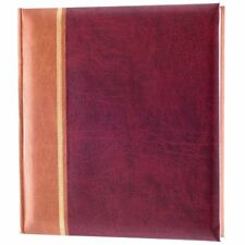 "KD103RD Kenro Grace Traditional Photo Album Red holds 500 6×4""/10×15 cm photos"