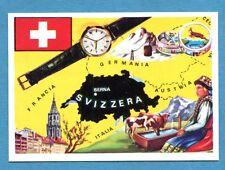 LA TERRA - Panini 1966 - Figurina-Sticker n. 171 - SVIZZERA -Rec