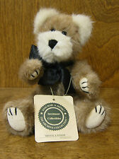 "Boyds Plush #57052-03 BRISTOL. B. WINSOR, 8"", NEW/Tag From Retail Store, Jointed"