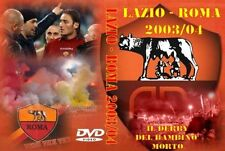 DVD DERBY SOSPESO LAZIO-ROMA 03/04 (FEDAYN,CURVA SUD,ASR,TOTTI,1927,AS ROMA,TDR)
