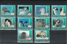 Ross Dependency 1994 MNH Wildlife Definitives 10v Birds Penguin Seal