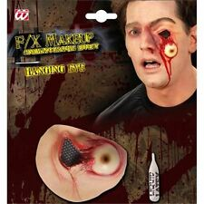Halloween Latex Colgante Ojo herida globo ocular de prótesis especial Fx Fancy Dress