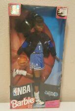 RARE NBA 1998 Orlando Magic Barbie Doll Authentic Uniform 20749 African American