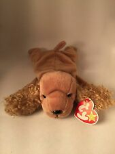 AUTHENTICATED by Becky's True Blue Beans-Spunky 4184 TY Beanie Baby-Jan14,1997