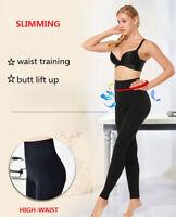 Women's HOT High Waist Tummy Compression Leggings Body Shaping Slim Tone Panties