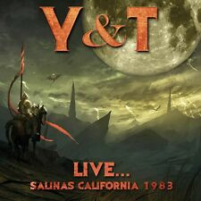 Y & T - Live... Salinas California 1983. New CD + sealed ** NEW **