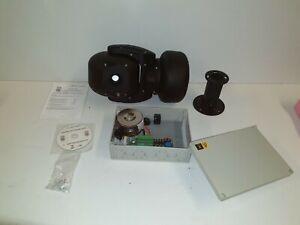 "Ganz All View Day/Night PTZ Black Camera 1/4"" 18:1 c-adn2x18pt-b"