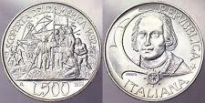500 LIRE 1992 V CENTENARIO DELLA SCOPERTA DELL'AMERICA ITALIA ITALY ARGENTO#2730