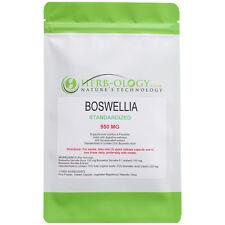 Standardized Boswellia Serrata 950 mg x 100 Capsules Herb-ology