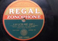 78 rpm BILLY COTTON BAND a day in the army , 1&2