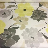 BEAUTIFUL FLORAL PRINT FIRE FROOF SUPER LUXURIOUS FABRIC BY PANAZ 5.5 METRES