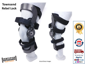 Townsend Rebel Lock Ligament Hyperextension Knee Brace - Ossur, Donjoy, Medi
