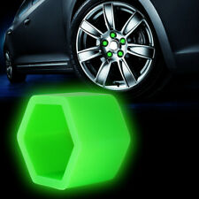 21mm Car Accessories Exterior Wheel Rim Lug Nut Covers Glow in the Dark Green