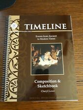 Memoria Press Timeline Composition and Sketchbook (Brand New, Free Shipping)