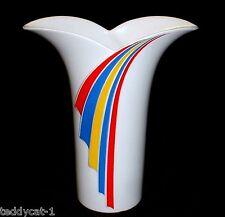 THOMAS Porzellan ~ stylische Vase im 70er Jahre Look