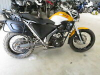FRONT GUARD/ FENDER BMW G650 XCOUNTRY MOTORCYCLE WRECKING COMPLETE G650 XCOUNTRY