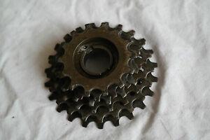 Retro freewheels / cassette Caimi Castano everest 6 speed 14T-23T 410 g