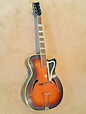 Migma Meister 1950's vintage Acoustic German Jazz guitar – Archtop?