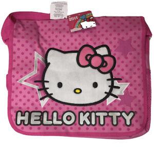 Hello Kitty Star Messenger Bag for Kids New Girls Sanrio Pink