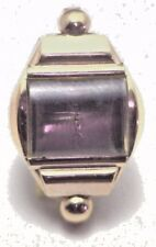 NOS Antique Commodore Watch Case Co 10k Yellow Gold GF Womens Wrist Watch Case