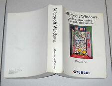 Manuale dell'utente MICROSOFT WINDOWS Version 3.1 Guida introduttiva Pc 1992