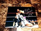 Bret The Hitman Hart Rare Signed 11x14 Photo WWE WWF Wrestling Sharpshooter Live