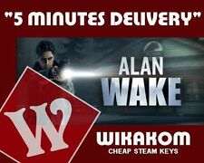 Alan wake collector's edition pc steam cd key livraison rapide