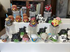 Angry Birds Lot of 25 Telepods Star Wars w/QR Codes Anikin Droid Darth Vader +