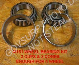 WHEEL BEARING SET / KIT FOR M416 TRAILER NOS PN# 5702247 NSN: 2530-00-887-1341