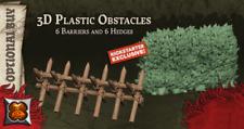 3D PLASTIC OBSTACLES SET - Zombicide Green Horde Kickstarter Exclusive PREORDER