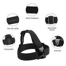 Elastic Adjustable Head Strap Mount Belt For GoPro GO PRO HD Hero 1/2/3/3+ Plus