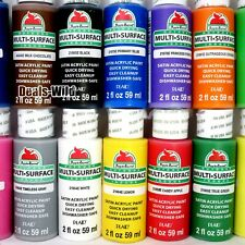 1 Satin Acrylic Paint Multi-Surface 2oz each -Choose from Assorted Colors