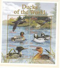 Gambia - 2002 - Ducks - Mini sheet - Mint lightly hinged on card (N67)