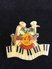 STOCKHOLM DRUMS SAX PIANO HARD ROCK CAFE PIN