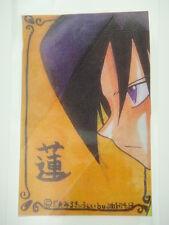 Japanese Anime Shaman King Doujin Fanart Bookmark I003