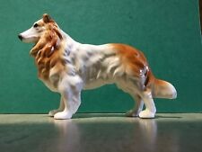 Long Haired Collie. Dog collection pottery model.